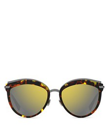 Dior - Women's Dior Offset 2 Mirrored Oversized Ro