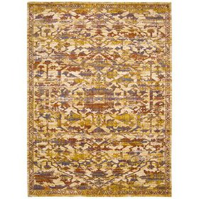 Moroccan Ginger Area Rug