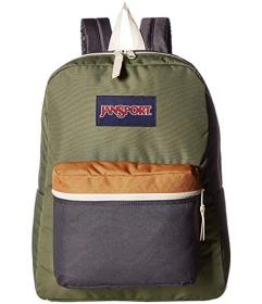 JanSport Muted Green/Soft Tan