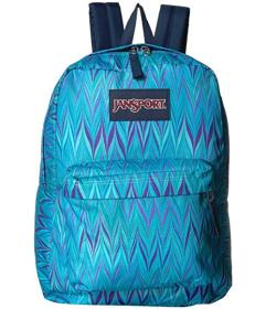 JanSport Blue Marble Chevron