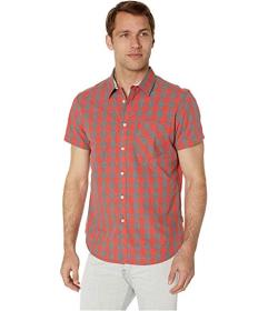 Kenneth Cole New York Short Sleeve Heather Check S