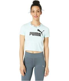 PUMA Amplified Logo Cropped Tee