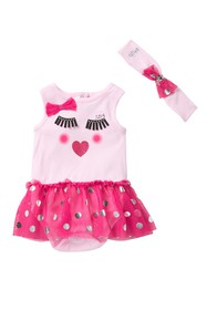 Juicy Couture Skirted Sunsuit (Baby Girls)