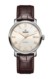 Rado Men's DiaMaster XL Croc Embossed Leather Stra
