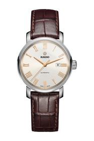 Rado Men's DiaMaster Croc Embossed Leather Strap W