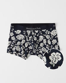 Trunk, NAVY AND WHITE FLORAL