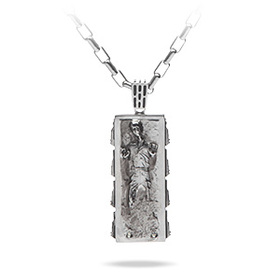 Han Solo in Carbonite Pendant - Shadow Series