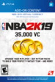NBA 2K19 35,000 Virtual Currency for PlayStation 4
