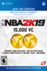 NBA 2K19 15,000 Virtual Currency for PlayStation 4