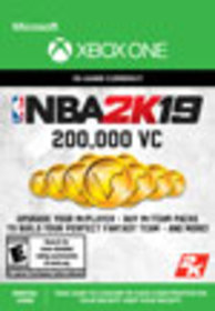 NBA 2K19 200,000 Virtual Currency for Xbox One