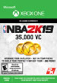 NBA 2K19 35,000 Virtual Currency for Xbox One