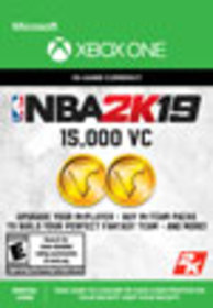 NBA 2K19 15,000 Virtual Currency for Xbox One