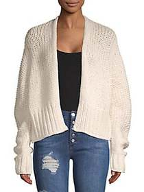 Free People Glow For It Cardigan IVORY