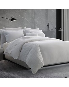Vera Wang - Linear Tucks Bedding Collection