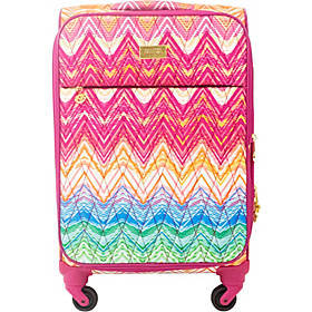 "MacBeth Chevron 21"" Expandable Spinner Carry-On"
