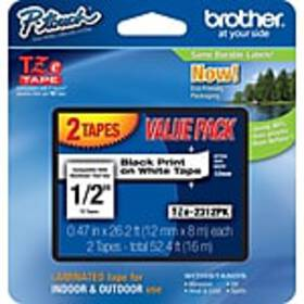 Brother TZe TZE-2312PK Laminated tape, Under 1/2W,
