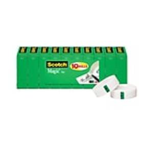 Scotch® Magic Tape, Invisible, Write On, Matte Fin