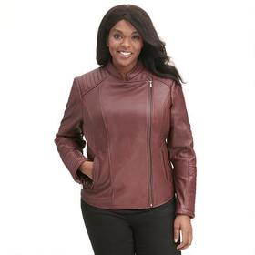 Plus Size Wilsons Leather Vintage Quilted Leather