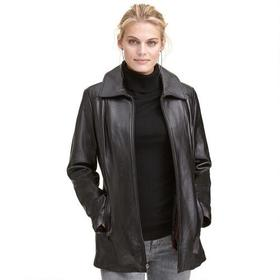 Wilsons Leather Thinsulate Front Zip Leather Scuba