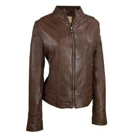 Wilsons Leather Shoulder Stitched Leather Jacket w