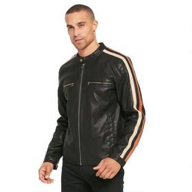 Big & Tall Wilsons Leather Motorcycle Faux-Leather