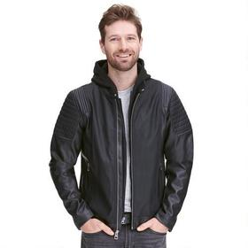 Web Buster Designer Brand Fashion Faux-Leather Jac
