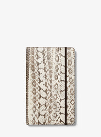 Michael Kors Medium Snakeskin Notebook