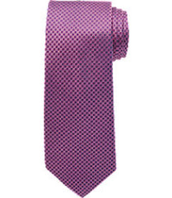 Jos Bank Reserve Collection Mini Check Tie - Long