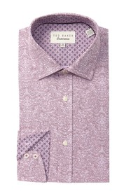 Ted Baker London Paisley Print Trim Fit Shirt