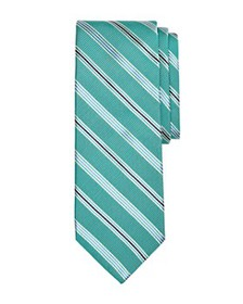 Brooks Brothers - Double Track Stripes Silk Classi