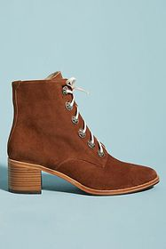 Anthropologie Freda Salvador Ace Lace-Up Boots
