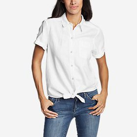 Women's Emmons Vista Short-Sleeve Tie-Front Sh