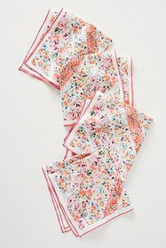 Anthropologie Sophia Napkins, Set of 4