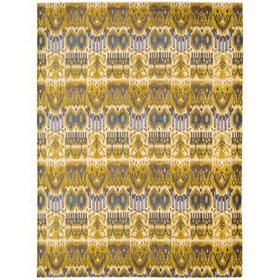 Moroccan Yellow Area Rug