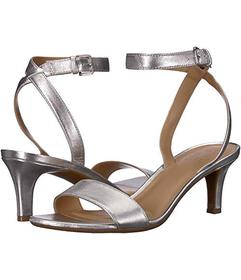 Naturalizer Soft Silver Metallic Leather