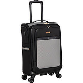 "Isaac Mizrahi Greenwich 20"" Expandable Carry-On Sp"