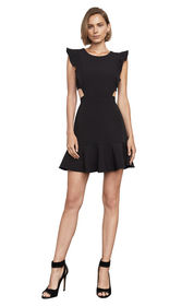 BCBG Nicole Cutout A-Line Dress