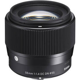 Sigma 56mm f/1.4 DC DN Contemporary Lens for Sony