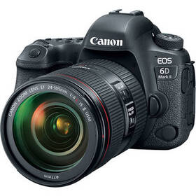 Canon EOS 6D Mark II DSLR Camera with 24-105mm f/4