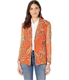 Juicy Couture Rustic Paisley Blazer