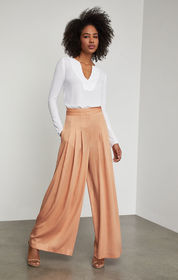 BCBG Brandy Pleated-Front Pant