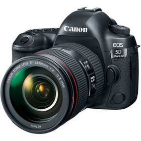 Canon EOS 5D Mark IV DSLR Camera with 24-105mm f/4