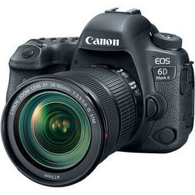 Canon EOS 6D Mark II DSLR Camera with 24-105mm f/3