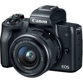 Canon EOS M50 Mirrorless Digital Camera with 15-45