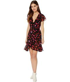 Betsey Johnson French Kiss Wrap Dress