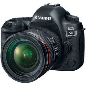 Canon EOS 5D Mark IV DSLR Camera with 24-70mm f/4L