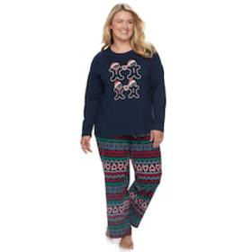 Plus Size Jammies For Your Families Gingerbread Ma