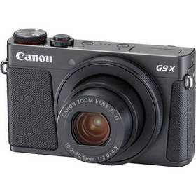 Canon PowerShot G9 X Mark II Digital Camera (Black