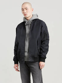 Levi's Reversible Oversized Bomber Jacket
