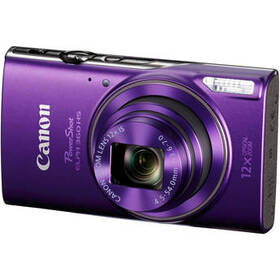 Canon PowerShot ELPH 360 HS Digital Camera (Purple